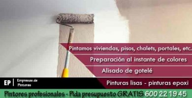 Pintores Ciudad Lineal Madrid