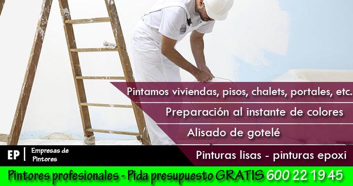Pintores de pisos
